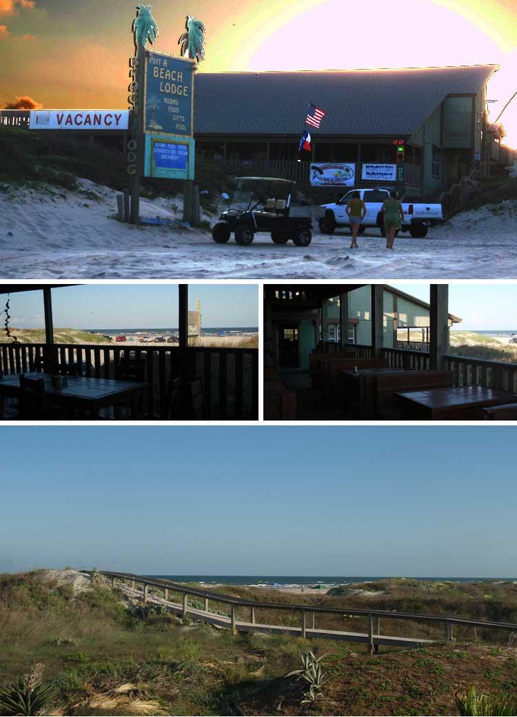 Beach Lodge Restaurant In Port Aransas Texas