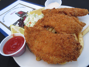 All You Can Eat Flounder at Beach & Station Street Grill Winter Special