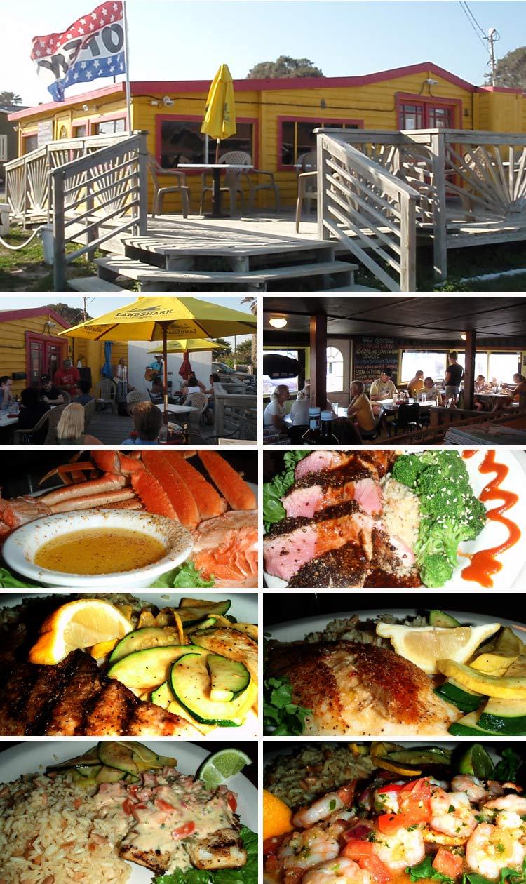 Beach Station Street Grill Restaurant Port Aransas Texas