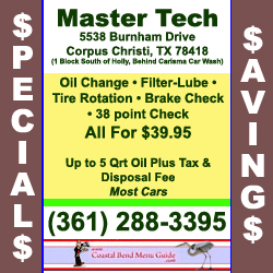 Master Tech Auto Savings Oil Change Specials & Savings
