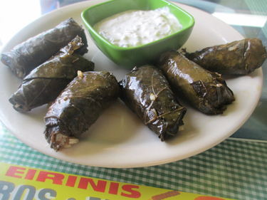 Eirinis Gyros & More Restaurant in Corpus Chrsiti, Texas.