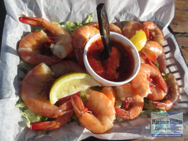 Harbour Lights Catering & Grill in Port Aransas, Texas.