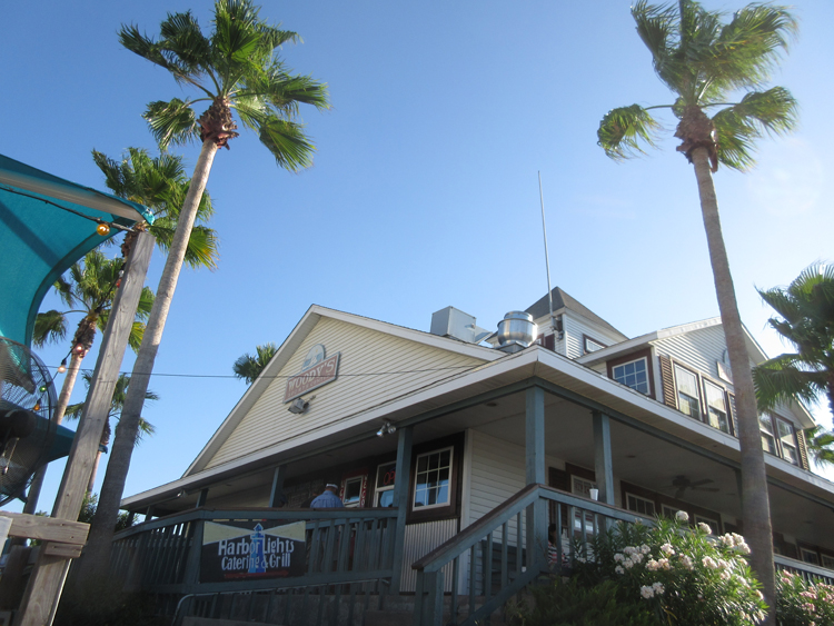 Harbour Lights Catering Grill In Port Aransas Texas