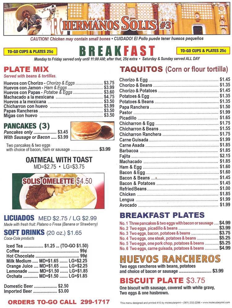Mexican Breakfast Restaurants Best