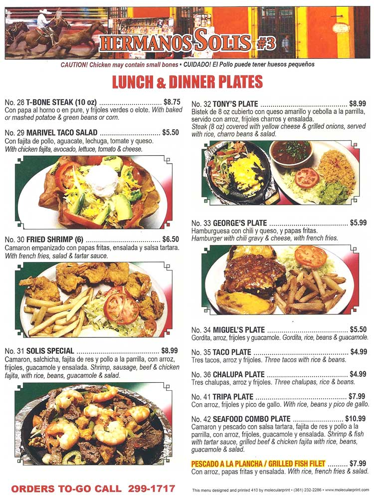 Gulf Coast Kitchen Menu