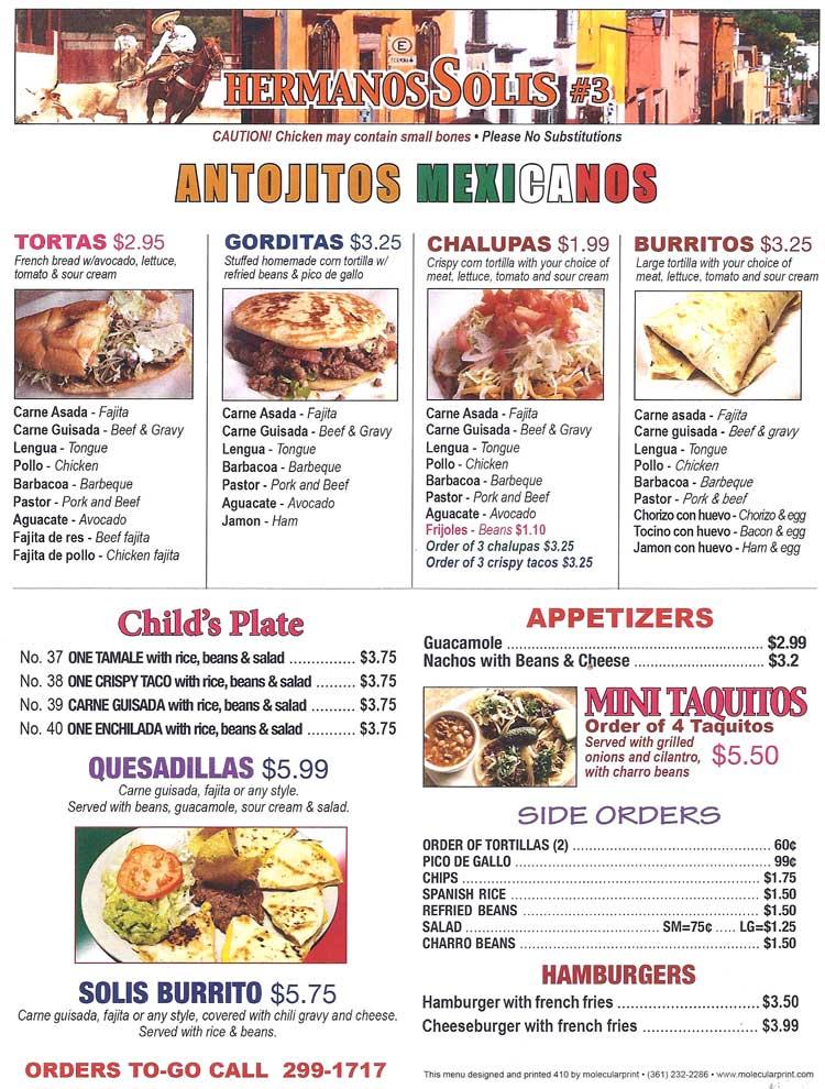 Hermanos Solis Mexican Restaurant Corpus Christi