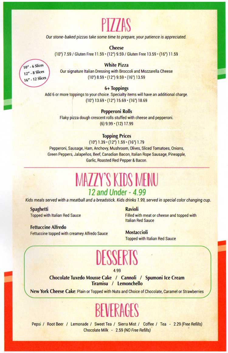 Island Italian Restaurant On Padre Island In Corpus Christi Tx