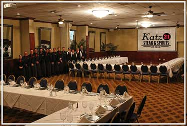 Katz 21 Steak & Spirits Restaurant & Prime Steakhouse in Corpus Chrsiti, Texas.
