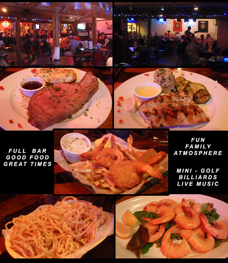 Kodys Restaurant Port Aransas Texas Coastal Bend Menu Guide