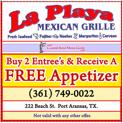 La Playa Restaurant Coupon