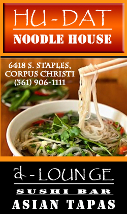 Hu-Dat Noodle House & D-Lounge Sushi Bar & Asian Tapas in Corpus Christi, Texas.