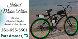 Island Motor Bikes Rentals & Repairs in Port Aransas, Texas.