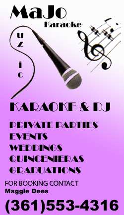 MoJo Muzic Karaoke and DJ services in Corpus Christi, Texas.