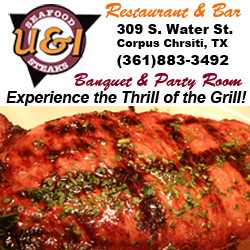 U & I Restaurant & Bar in Corpus Christi, Texas.