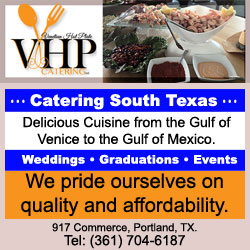 Venetian Hot Plate Restaurant in Port Aransas & VHP Catering in Portland, Texas.