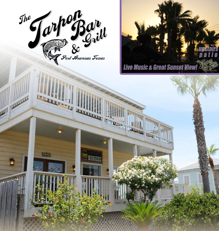 The Tarpon Bar & Grill in Port Aransas, Texas.